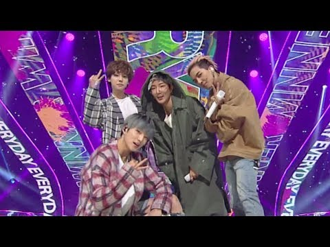 《EXCITING》 WINNER(위너) - EVERYDAY @인기가요 Inkigayo 20180422