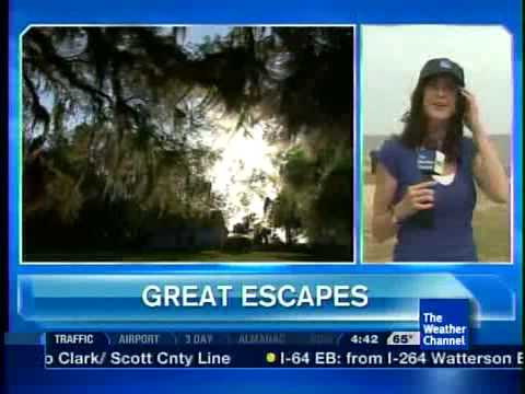 The Weather Channel Great Escapes Highlights St. Simons Island, GA