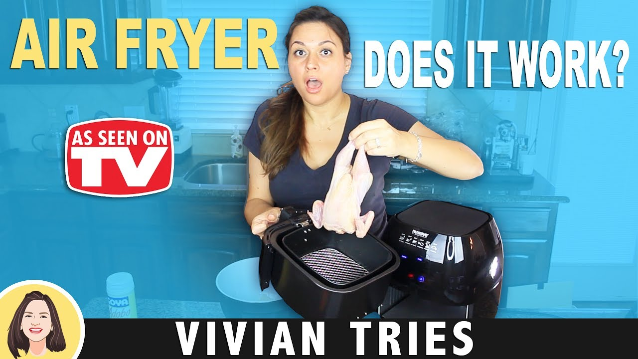 AIR FRYER REVIEW TESTING AS SEEN ON TV PRODUCTS | VIVIAN TRIES - YouTube