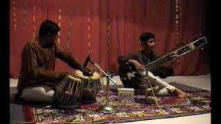 ( RAG LALIT ) stage show of indian classical music.WMV