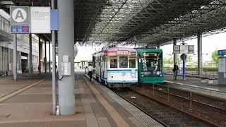 広島電鉄1150形1156号 広島港発車