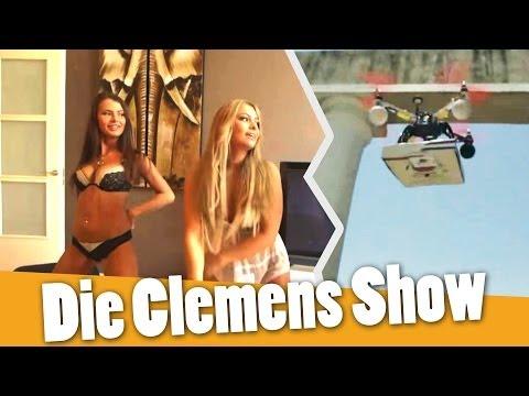 "Porno Casting Show + Pizza per Drohne! - ""Die Clemens Show"" - 동영상"