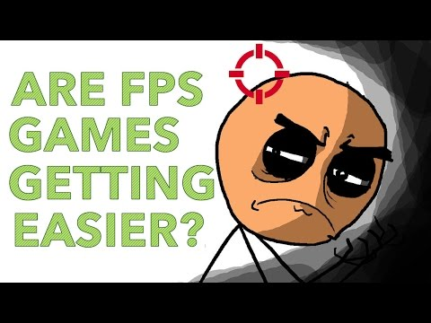 Are FPS Games Getting Easier Every Year?