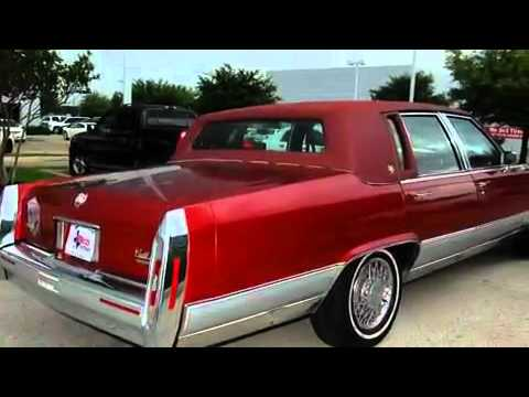 1992 Cadillac Brougham Ft. Worth TX - YouTube