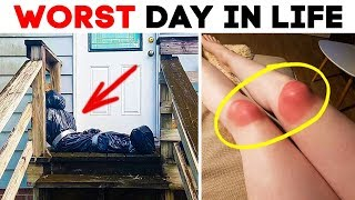 55 AWKWARD MOMENTS! WORST DAY IN LIFE
