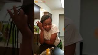 mom exposes child on snapchat