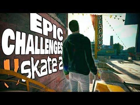 EPIC SKATE 2 CHALLENGES