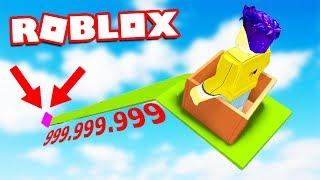 КУДА ОНА ВЕДЕТ? ДЕТСКАЯ ГОРКА НА 999,999,999 МЕТРОВ В РОБЛОКС (Roblox)