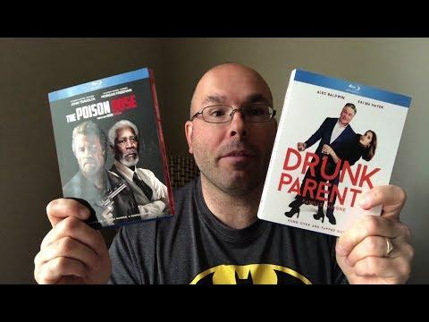 Présentation (unboxing) Des Films Drunk Parents Et The Poison Rose