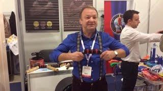 Николай Сотский. Упражнения с Бизон-1 для дельтовидных мышц.