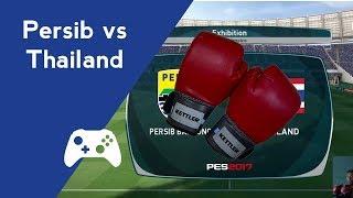 PERSIB vs THAILAND - Main Bola Pake Sarung Tinju !?!?!
