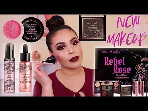 NEW WET N WILD REBEL ROSE COLLECTION FIRST IMPRESSIONS + REVIEW! | JuicyJas