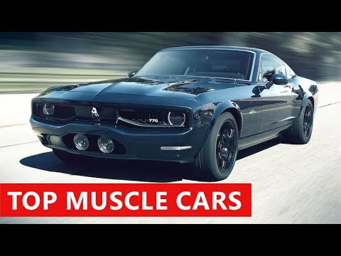 10 New Muscle Cars American Coming In 2018 Best Upcoming Fast