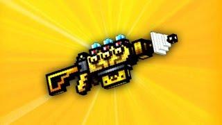 Pixel Gun 3D - Solar Power Cannon UP1 [Review]