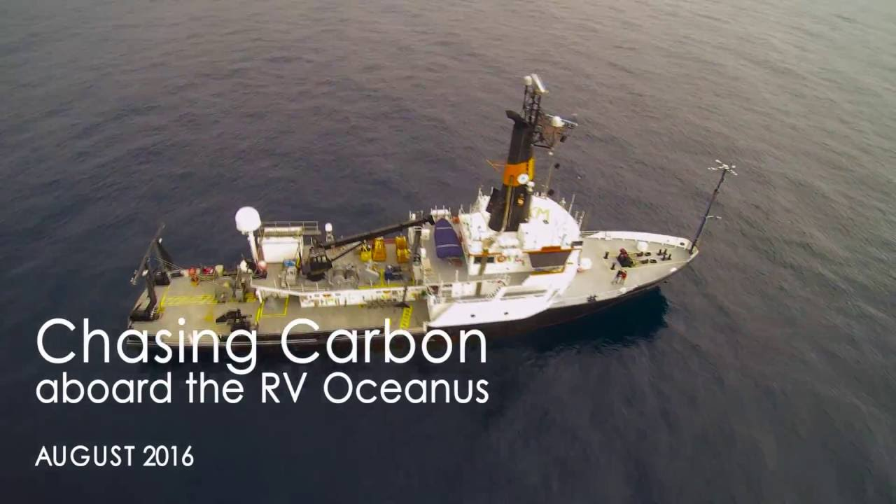 Chasing Carbon aboard the Research Vessel Oceanus