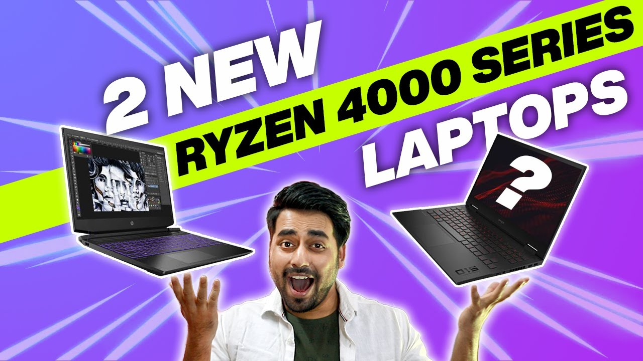 HP OMEN 15 & HP Pavilion Gaming 15 Launched in India - Ryzen 5 4000 Series Laptops in India (2020)🔥🔥