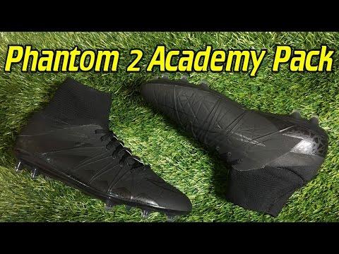 Nike Hypervenom Phantom 2 Academy Pack Blackout   Review + On Feet
