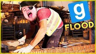 NOWY TRYB: BUDOWANIE STATKÓW - Garry's mod: Flood [#1] | #BLADII