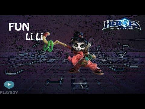 видео: heroes of the storm: top 1 eu (15 выпуск) - Ли Ли