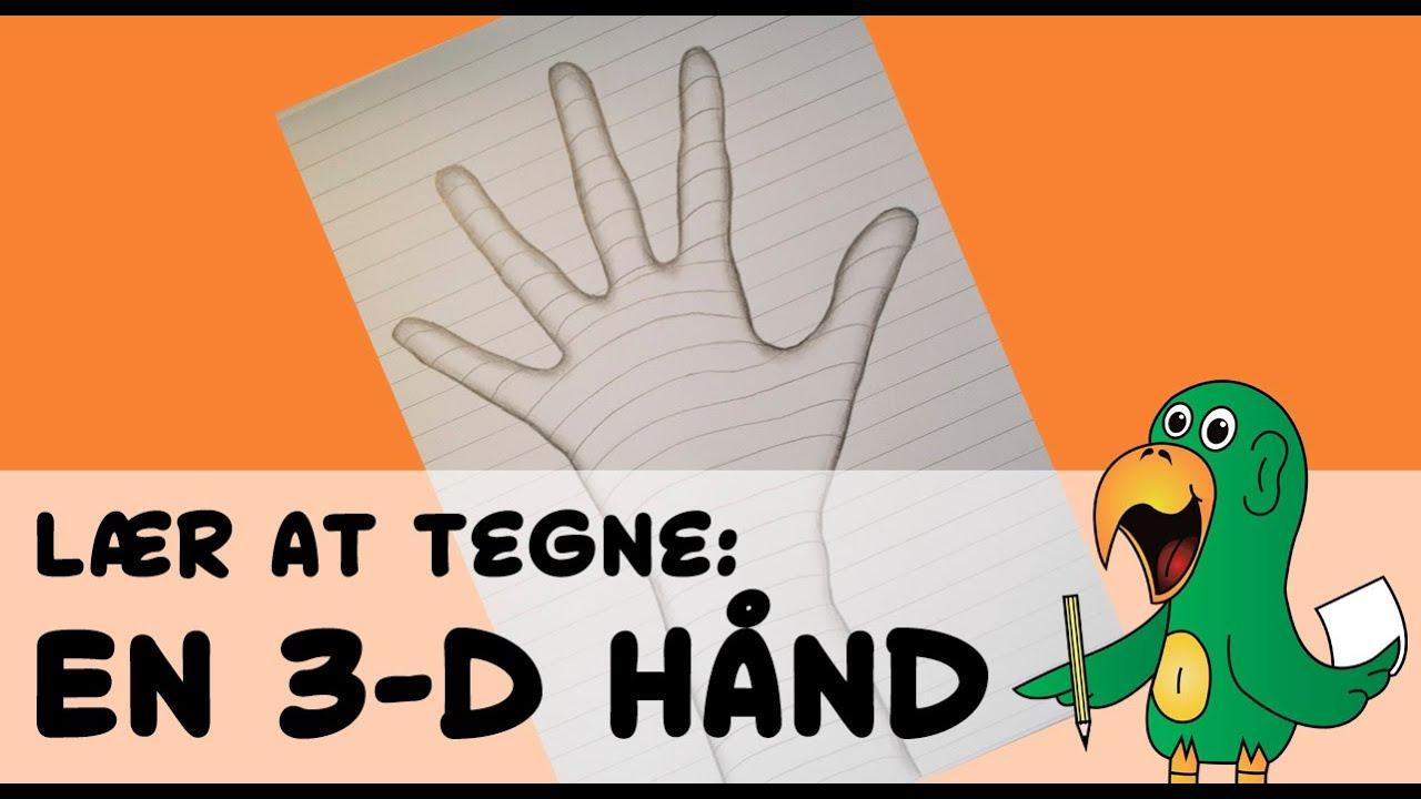 lær at tegne 3d tegninger