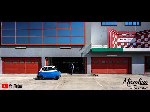 Microlino by Tazzari EV - Electric Vehicle Braking Test