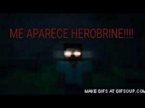 ¡LA APARICIÓN DE HEROBRINE REAL!WTF