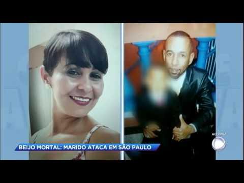 Homem arma emboscada e mata a ex-mulher a facadas