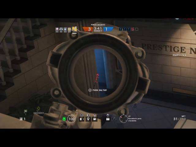 Tom Clancy's Rainbow Six® Siege - Levando o Time Todo Ps4 - Bandit - HD