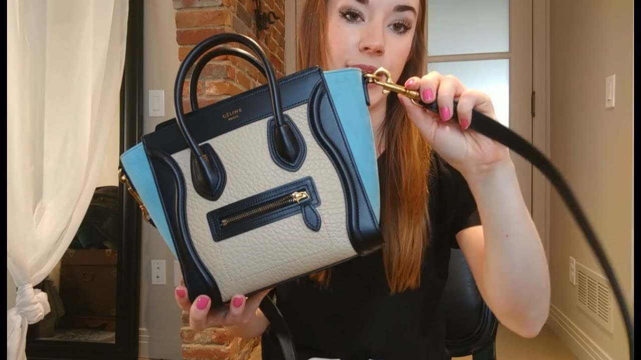4ff19dfbafb6 Is your Celine Nano Luggage Authentic  - YouTube