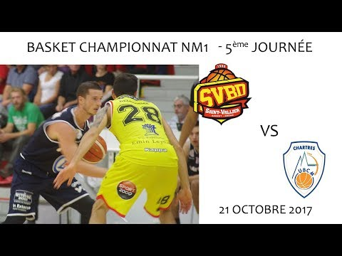 Basket NM1 5ème journée SVBD vs CHARTRES 21 10 2017