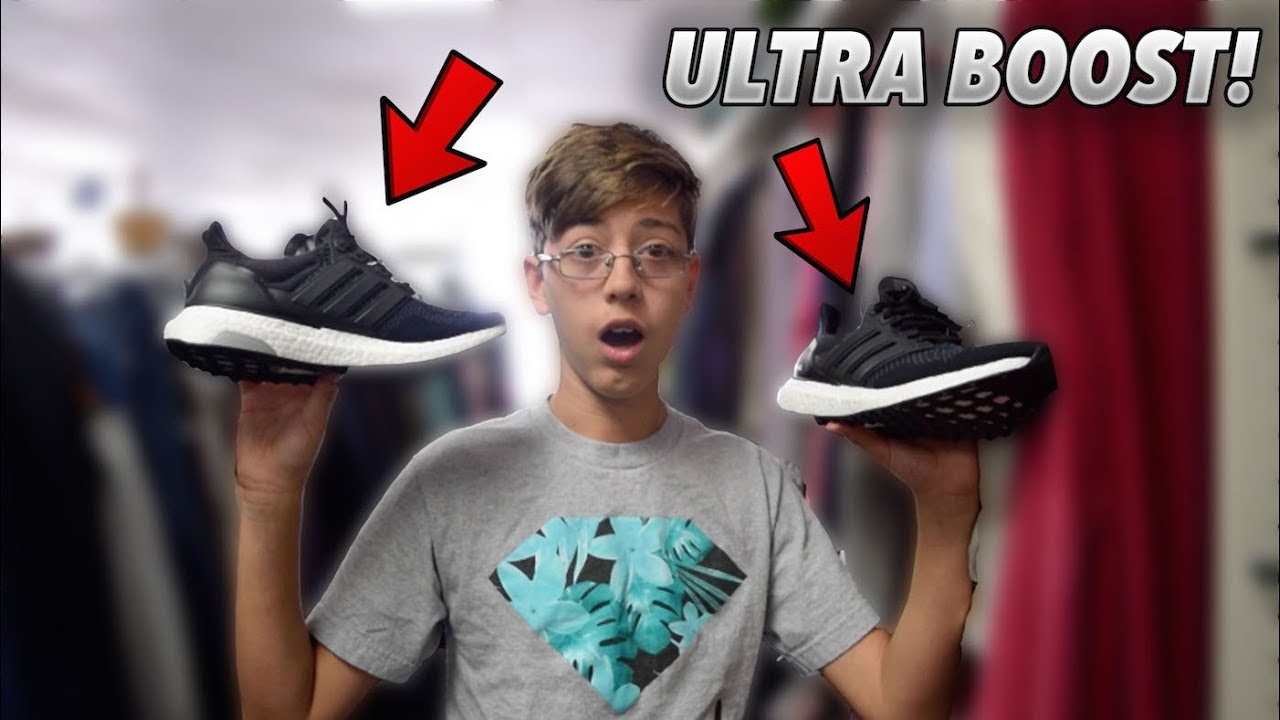 0dfc8a3db25ff9  5 ADIDAS ULTRA BOOST!!! Thrift pick ups - YouTube