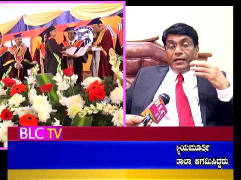 BLCTV Bangalore Chit Chat with Alliance College DR.Madhukar