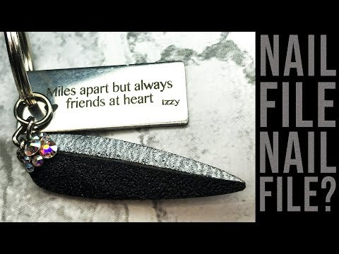 NAIL FILE NAIL TO FILE YOUR NAIL - DIY NAIL TOOLS