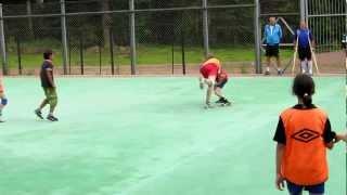 Тренировка гандболистов