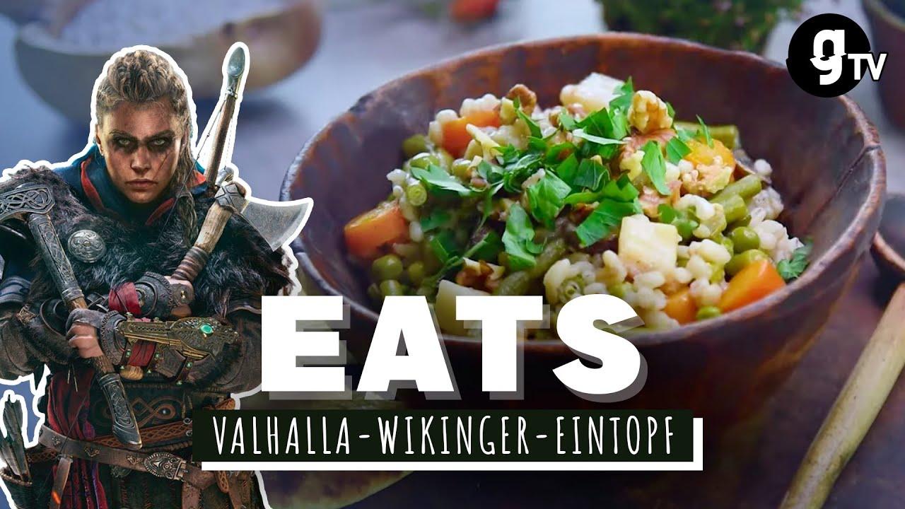 Valhalla Wikinger-Eintopf – Was isst Eivor aus Assassin's Creed Valhalla?  | EATS #11 | gTV