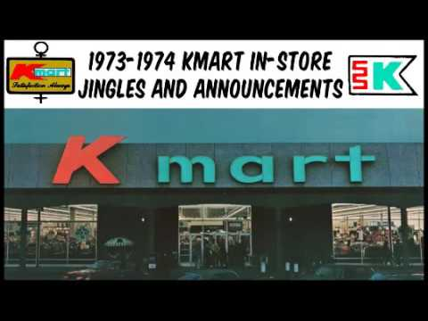 Kmart 1973-1974 Jingles and Announcements