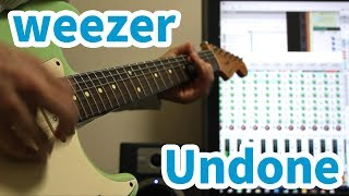 Weezer - Undone The Sweater Song (Cover)」 02:00 ~ バックトラック...