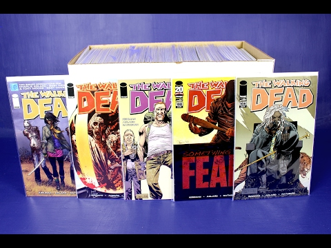My Walking Dead Comic Book Collection Tour Video