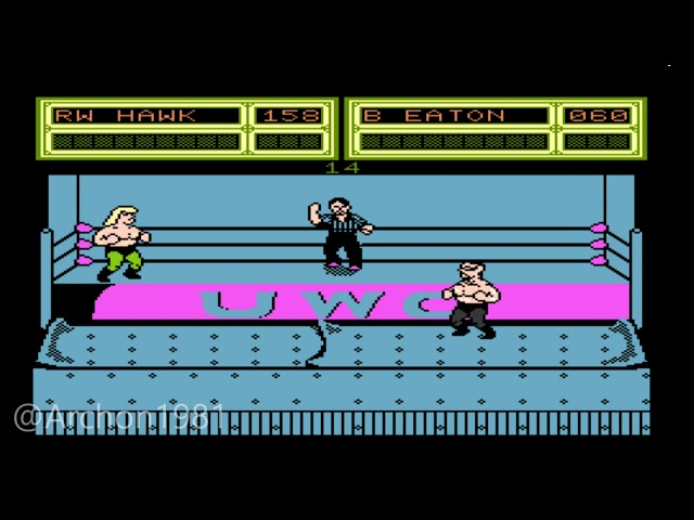 Unannounced, unreleased NES wrestling game discovered - TechSpot