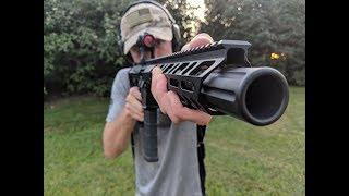 Custom Palmetto AR Pistol