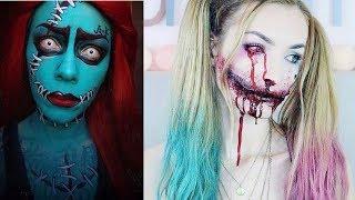 DIY Halloween Makeup Tutorials Compilation - LAST MIN. HALLOWEEN MAKEUP #5