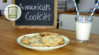 American Cookies - Double-chocolate-chip Cookies #chefkoch