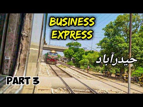 Speedy Crossing: PAK BUSINESS EXPRESS Meets AWAM EXPRESS In HYDERABAD | Part 3 | Pakistan Railways