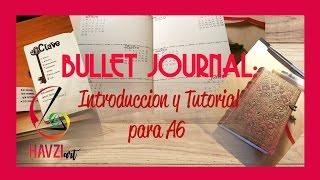 bullet journal for dummies tutorial introduccin en formato a6 pocket esp