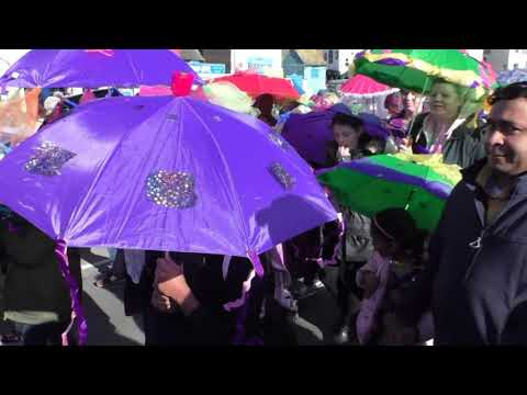 Hastings Fat Tuesday the Umbrella Parade 2018