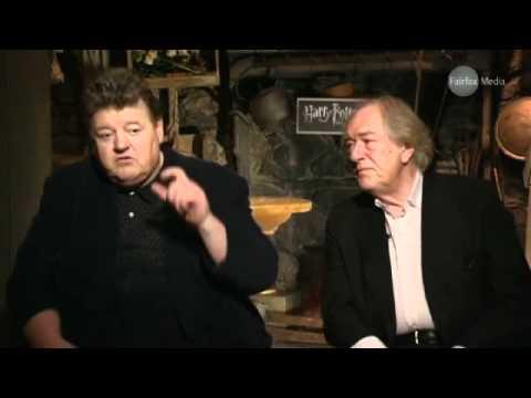 Michael Gambon & Robbie Coltrane talk Harry Potter
