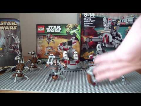 LEGO Star Wars:  Droideka History