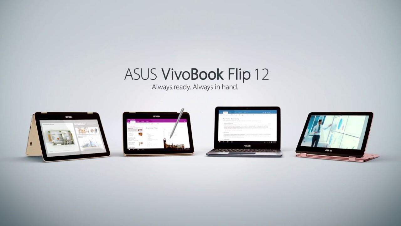 Always Ready Always In Hand Vivobook Flip 12 Youtube