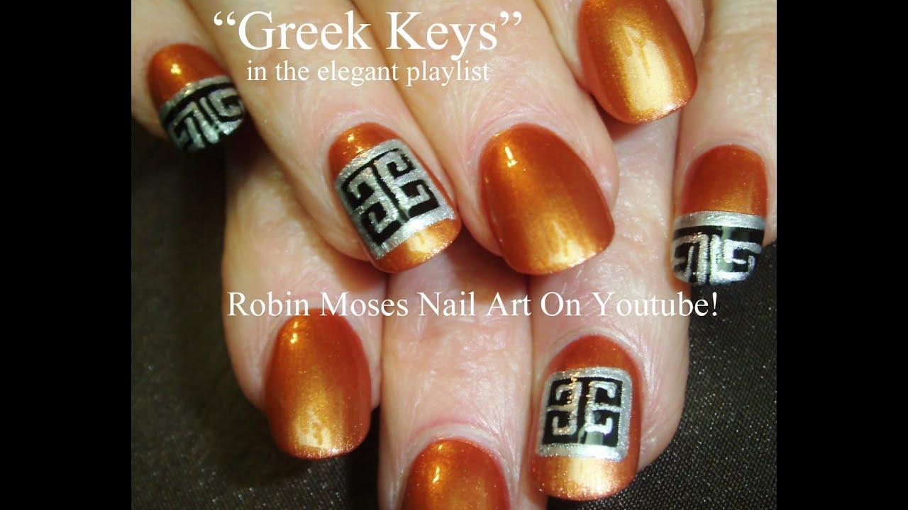 Nail Art Tutorial | Givenchy Couture Nail Art Design - YouTube