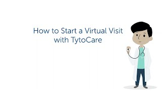 Starting a virtual visit with TytoCare